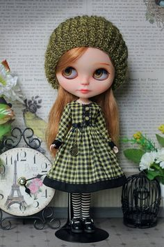Outfit for Blythe and same doll  1/6 size