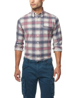 Printed Flannel Sportshirt by GANT by Michael Bastian on Park & Bond