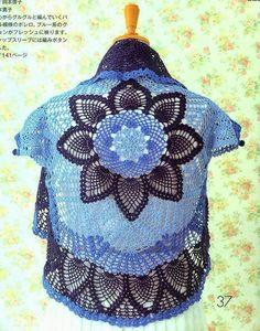 Crochet: Color bolero