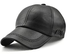 34a6c3f0 FRALU New fashion high quality spring winter Faux leather baseball cap for men  casual moto snapback hat men's hat Cap wholesale