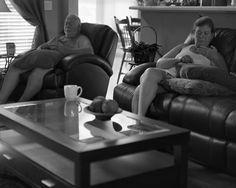 """La nueva serie fotográfica del estadounidense Eric Pickersgill titulada """"Removed"""" (eliminado) muestra a las personas en su vida cotidiana totalmente ..."""