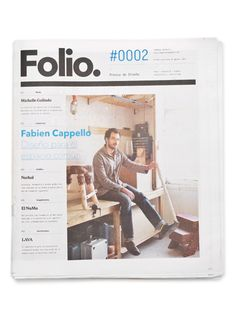 Folio, Face. Identity & Editorial Design for a quarterly design journal based in Monterrey & Mexico City.