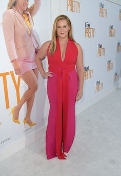 """Amy Schumer Photos - Amy Schumer attends the premiere of STX Films' """"I Feel Pretty"""" at Westwood Village Theatre on April 2018 in Westwood, California. - Premiere Of STX Films' 'I Feel Pretty' - Red Carpet I Feel Pretty, Pretty In Pink, Amy Schumer, Brandon Maxwell, Daily Photo, Best Actor, Style Icons, Red Carpet, Beautiful Women"""