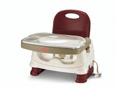 Deluxe Booster Seat Baby Chair Healthy Infant Feeding Toddler Comfort Tray Care #FisherPrice