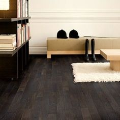 Wunderbar Black Laminate  LOVE This Floor.