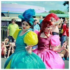 Drizella and Anastasia Tremaine ~ Celebrate A Dream Come True Parade