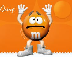 M&M'S® Orange -- Red M&M's were given the boot in 1976 due to concerns that the food dye was a carcinogen, and the orange M&M made its debut.