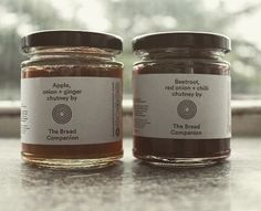 #cherishtherelish - beetroot & chilli and ginger & apple chutney available at @scpltd over the festive season!