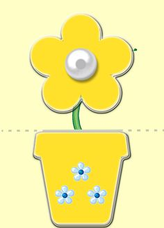 Mom Day, Creative Cards, Projects To Try, Symbols, Printables, Yellow, Flowers, Puzzles, Inspiration