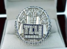 2011 New York Giants NFL Super Bowl by ChampionshipRing on Etsy, $199.99