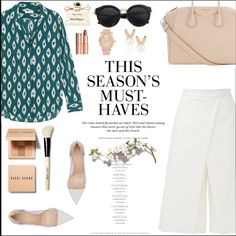 ... by margarita-m-a on Polyvore featuring TIBI, Equipment, Gianvito Rossi, Givenchy, Aamaya by priyanka, Bobbi Brown Cosmetics, Charlotte Tilbury, Salvatore Ferragamo and H&M