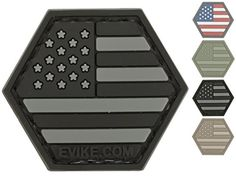 Evike  Operator Profile PVC Hex Patch United States Flag Series Flag USA SWAT  66321 -- Click image to review more details.