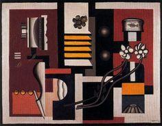 """Artista:  Fernad Léger.  """"Bodegón"""" Fecha de creación: 1927"""