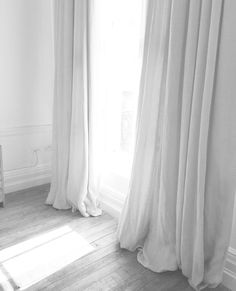 something blue | linen curtain, indigo and linens