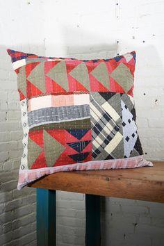 Ace & Jig x Counterpane Patchwork Pillow   Beautiful Dreamers