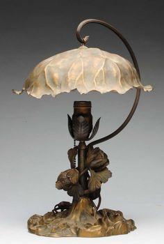 Art Nouveau Lamp Pairpoint