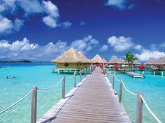 Bora Bora. #viajes #novios