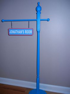 Personalized Sesame street inspired street sign double by khorcha