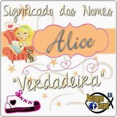 Alice – Significados Dos Nomes