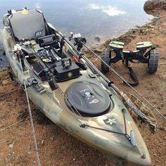 Are you ready to hit the water? #AdventureReady #KayakFishing #Kayaking…