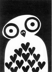 Papercut owl by William Broome