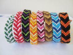 Made to Order  Chevron Braided Bracelets by beausbitsandbobs, £4.20