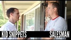 BoredShortsTV - Kid Snippets: Salesman, absolutely one of the best ideas I seen. Laughed forever and rewatched all day!