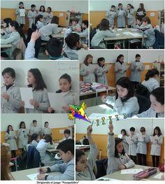 Dirigiendo Pasapalabra. Aprendizaje cooperativo Classroom Jobs, Cooperative Learning, First Grade, Teamwork, Innovation, Teaching, School, English, Activities
