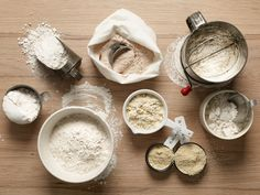 Different Flour Types and Uses : Flour 101 : Food Network - FoodNetwork.com