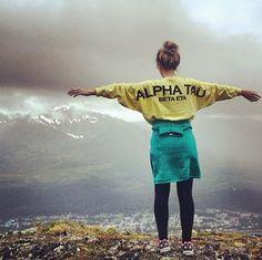 Alpha Sigma Tau spirit jersey