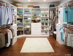 Closet Organizers....great house site!