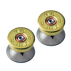 Gam3Gear Custom Metal Brass Bullet Analog Thumbstick Tuning for Xbox One PS4 Controller ** To view further for this item, visit the image link.Note:It is affiliate link to Amazon.