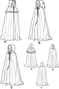 cape sewing patterns free | How to Make a Witch Costume - Start Sewing (UK)
