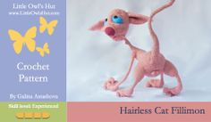 Hairless Cat Fillemon, Try before you buy. Click on the picture to download an example pdf file