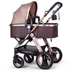 Cynebaby Infant Baby Bassinet Stroller for Newborn and Toddler
