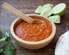 Chipotle's tomatillo hot salsa