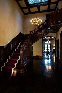 Flint Creek Country Estate, Meridian TX #wedding imagine a photo of you coming down the stairs in your wedding dress!