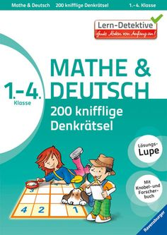 Denkrätsel Mathe & Deutsch 1 - 4 Klasse, £7.55 Activity Books, Book Activities, Children, Deutsch, Math Resources, First Class, Elementary Schools, Studying, Ideas