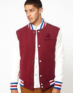 Le Coq Sportif Varsity Jacket