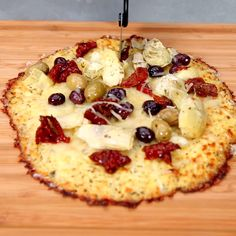 Cauliflower Pizza Crust | MyRecipes