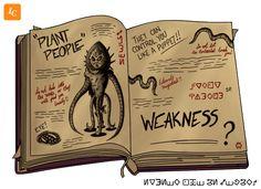 Gravity Falls - Plant People by Ivancartoonist on DeviantArt