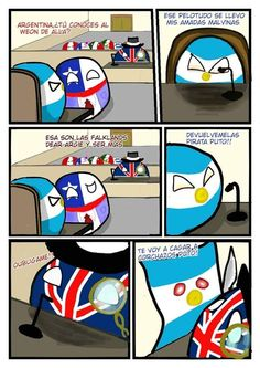 Read 90 from the story Comics de Countryballs by DemigodNica (Francisco Velásquez) with 909 reads. Funny Spanish Memes, Spanish Humor, Funny Memes, Jokes, Argentina Memes, Human App, Argentina Country, Art Memes, Country Art
