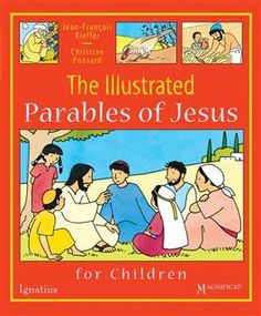 Selected parables from the Gospels are told in a youthful and tasteful comic-style book. The simple words and beautiful, brightly colored illustrations will captivate children whether they read the book on their own or with their family. Catholic Books, Catholic Kids, Jesus Book, Parables Of Jesus, Bible Stories For Kids, First Communion Gifts, Comic Book Style, Spirituality Books, Simple Words