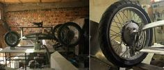 ... и с колёс от мотоцикла Урал.