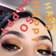 Sparkly Eyeshadow Pa - February 04 2019 at Sparkly Eyeshadow, Yellow Eyeshadow, Eyeshadow Base, Colorful Eyeshadow, Glitter Makeup, Brown Eyeliner, No Eyeliner Makeup, Eye Makeup Tips, Pencil Eyeliner