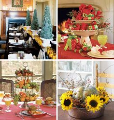 Ideas Christmas Time Holiday Thanksgiving Table