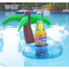 Floating drink holder  http://www.inflatablepooltoys.org/product/floating-drink-holder/  #pool #floats #drinking