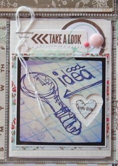 Mish Mash: Project Life 1 + new ideas for PL ~ punch a shape through a photo Project Life Layouts, Project Life Cards, Life Journal, Life Page, Mish Mash, December Daily, Diy Accessories, Smash Book, Life Inspiration