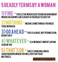 So true...men should learn.