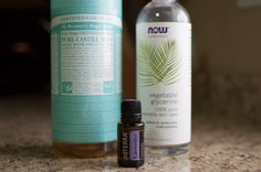 Make your own bubble bath without harsh chemicals that could damage your skin! Castile soap, vegetable glycerin and your favorite DoTerra Essential Oil....Lavenders my favorite!